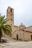San Paolo kyrka i Olbia Arkivfoto