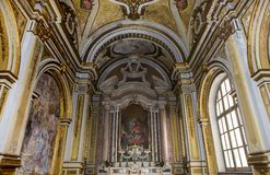 San Paolo Maggiore church, Naples Italy Stock Images