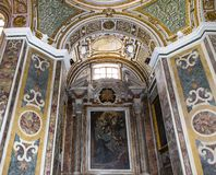 San Paolo Maggiore church, Naples Italy Stock Photo