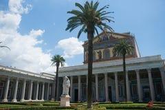 San paolo rome. Italia church Stock Images