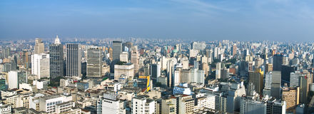San Paolo skyline, Brasil Stock Photos