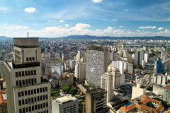 San Paolo skyline, Brasil Stock Photos