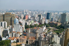 San Paolo skyline, Brasil Stock Photography
