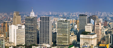 San Paolo skyline, Brasil Royalty Free Stock Images