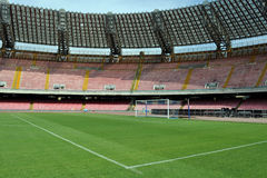 San Paolo stadium goal Stock Images