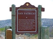 San Patricio New México Imágenes de archivo libres de regalías