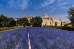 San Paul de Mausole em Saint-Remy de Provence foto de stock royalty free