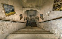 San Paul de Mausole en el santo-Remy de Provence fotos de archivo libres de regalías