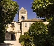 San Paul de Mausole på helgonet-Remy de Provence royaltyfri fotografi