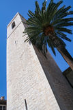 San-Paul-de-Vence, d'Azur di Côte Fotografia Stock