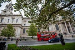 San Paul London della cattedrale Immagini Stock