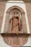 San Peablo sculture przy Taretan kościół Obrazy Stock