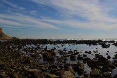 SAN Pedro, νότιες λίμνες παλίρροιας ασβεστίου Στοκ Εικόνες