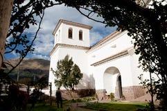 San Pedro Apostol Church - Andahuaylillas - Peru Lizenzfreie Stockfotos