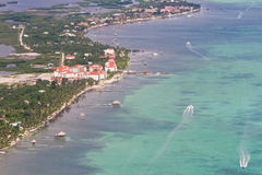 San Pedro, Belize royalty-vrije stock afbeeldingen