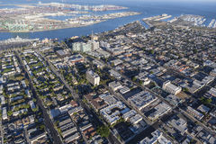 San Pedro California Aerial View Royalty Free Stock Images