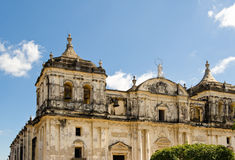San Pedro cathedral Leon royalty free stock photography