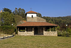 San Pedro church ,Bakio, Basque Contry,. Spain Stock Photography