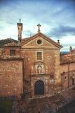 San Pedro Church in Cuenca stockfotos