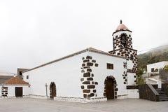 San Pedro church, El Hierro. San Pedro church in El Mocanal, El Hierro, Spain stock images