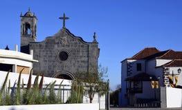 San Pedro Church en Vilaflor, Tenerife, islas Canarias Foto de archivo