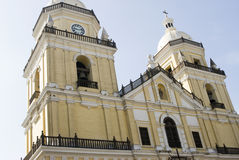 San pedro church lima Stock Photography
