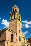 San Pedro Church in Seville, Spain Stock Photography