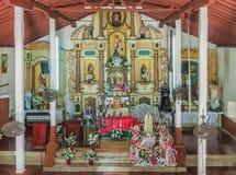 San Pedro church in Taboga island Panama Stock Photography