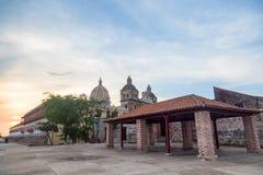 San Pedro Claver Church fotografering för bildbyråer