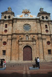 San Pedro Claver Church, Cartagena, Colombia Stock Image