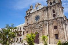 San Pedro Claver Church in Cartagena de Indias Stock Photos