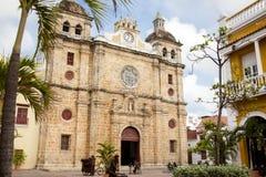 San Pedro Claver Church in Cartagena de Indias Royalty Free Stock Photos