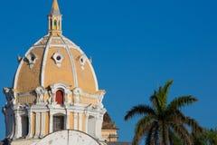 Free San Pedro Claver Church Dome Cartagena Royalty Free Stock Photo - 39637665