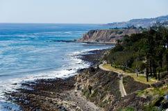 San Pedro Coasline. The coastline of San Pedro Calicornia Royalty Free Stock Photo