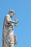 San Pedro con llave Foto de archivo libre de regalías