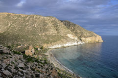San Pedro cove (Cabo de Gata, Spain) Royalty Free Stock Photo