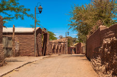 San Pedro de Atacama Fotografie Stock Libere da Diritti