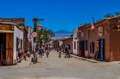 San Pedro de Atacama royaltyfri foto