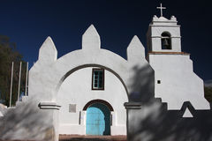 San Pedro de Atacama Church Royalty Free Stock Images