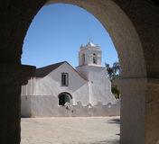 San Pedro de Atacama Church Stock Photography