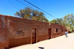 San Pedro de Atacama street Stock Photo