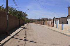 San Pedro de Atacama. View of Winery Santa Cruz Chile stock photos