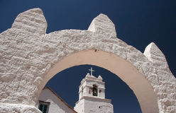 San Pedro de Atacamas Church Lizenzfreie Stockfotografie