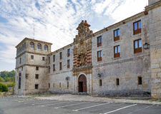 San pedro de cardena in Burgos Royalty Free Stock Photography