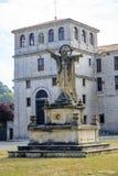 San pedro de cardena in Burgos Stock Photography