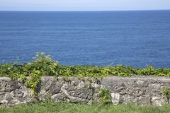 San Pedro Headland, Llanes, Austurias Stock Fotografie