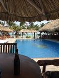 San Pedro Kapitän-Morgans, Amber Caye Belize lizenzfreie stockbilder