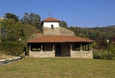 San Pedro kościół, Bakio, bask Contry, fotografia stock