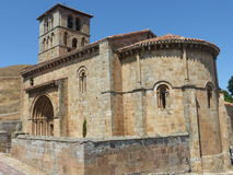 SAN PEDRO kościół W CANTABRIA Zdjęcia Stock