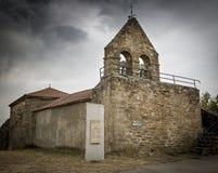San Pedro kościół w Villar De Farfon, Zamora Obraz Royalty Free